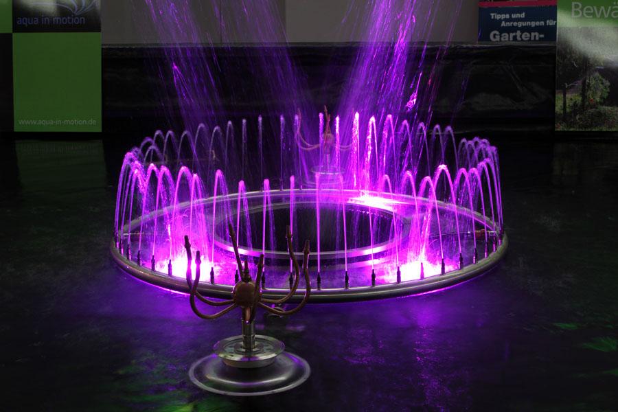 Messe Stuttgart – Wasserspiele und Springbrunnen