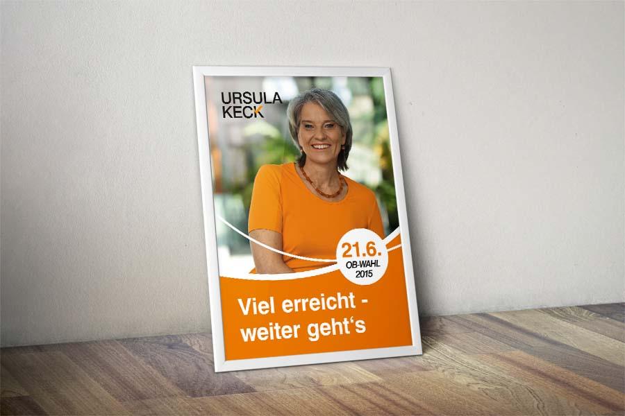 Ursula Keck Plakat