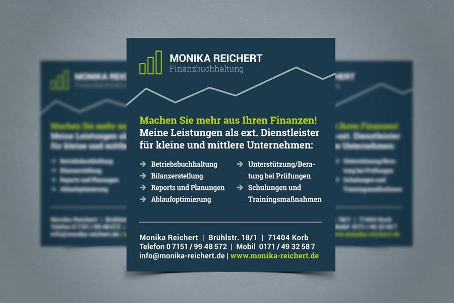 Monika Reichert Finanzbuchhaltung Anzeigen
