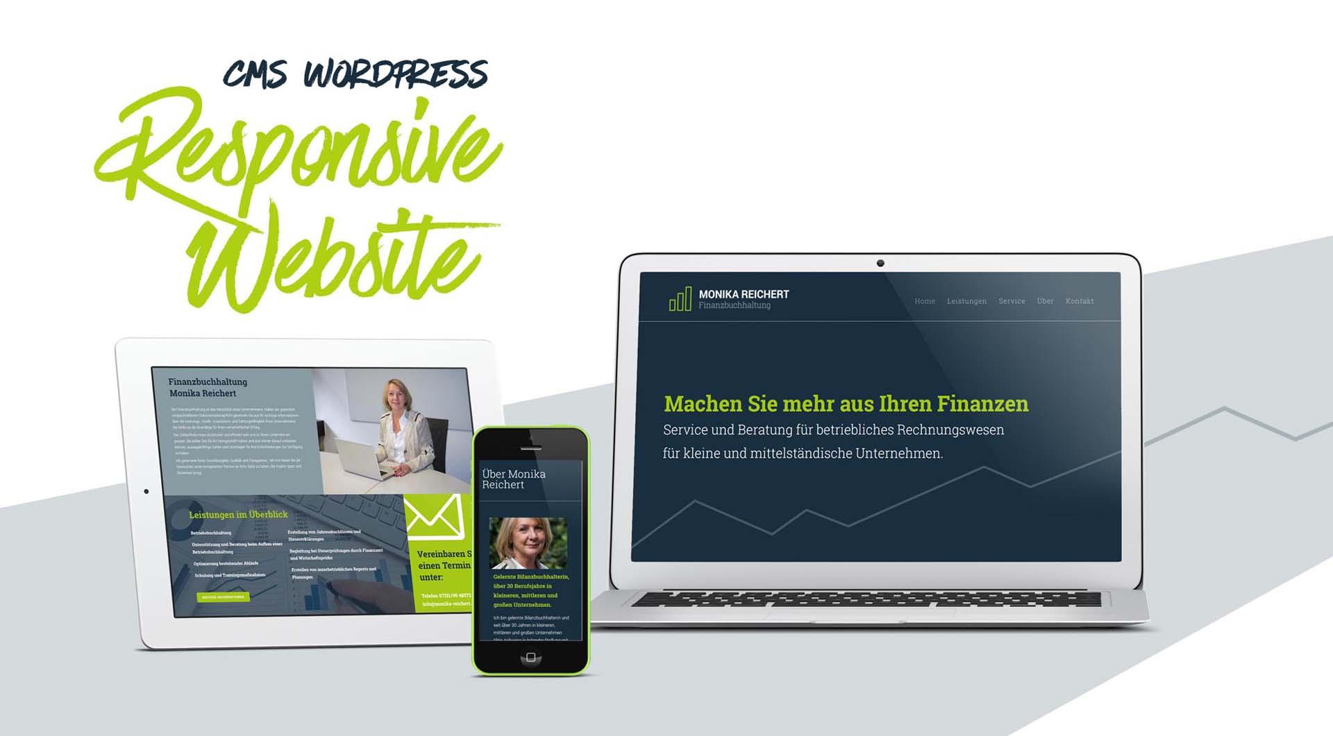 Monika Reichert_Website_CMS WordPress