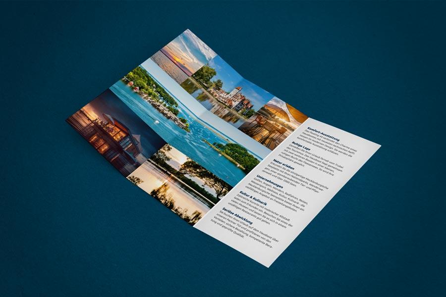 Ferien auf dem See | Flyer